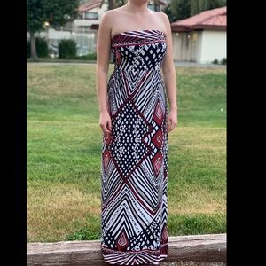Multicolor Maxi Dress